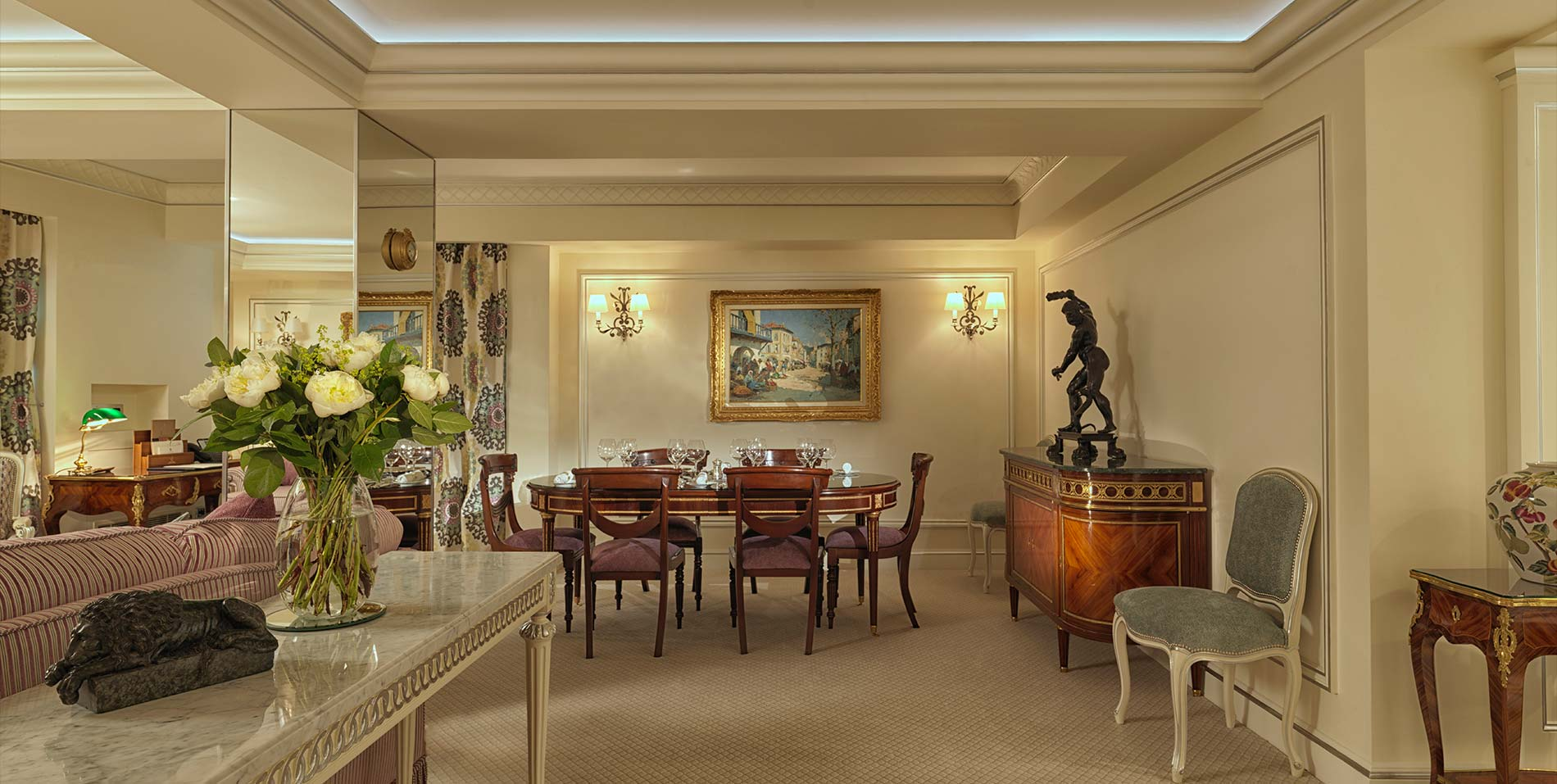 Green Park Suite Dining Room