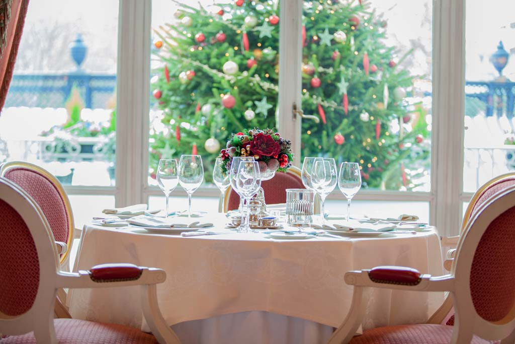 Christmas at The Ritz Restaurant