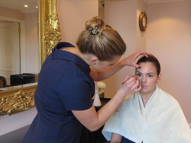 Professional Make up Application in The Ritz Salon