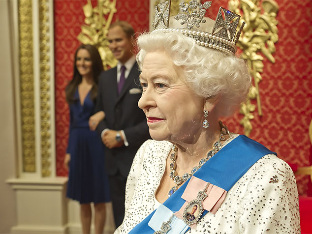 The Queen at Madame Tussauds