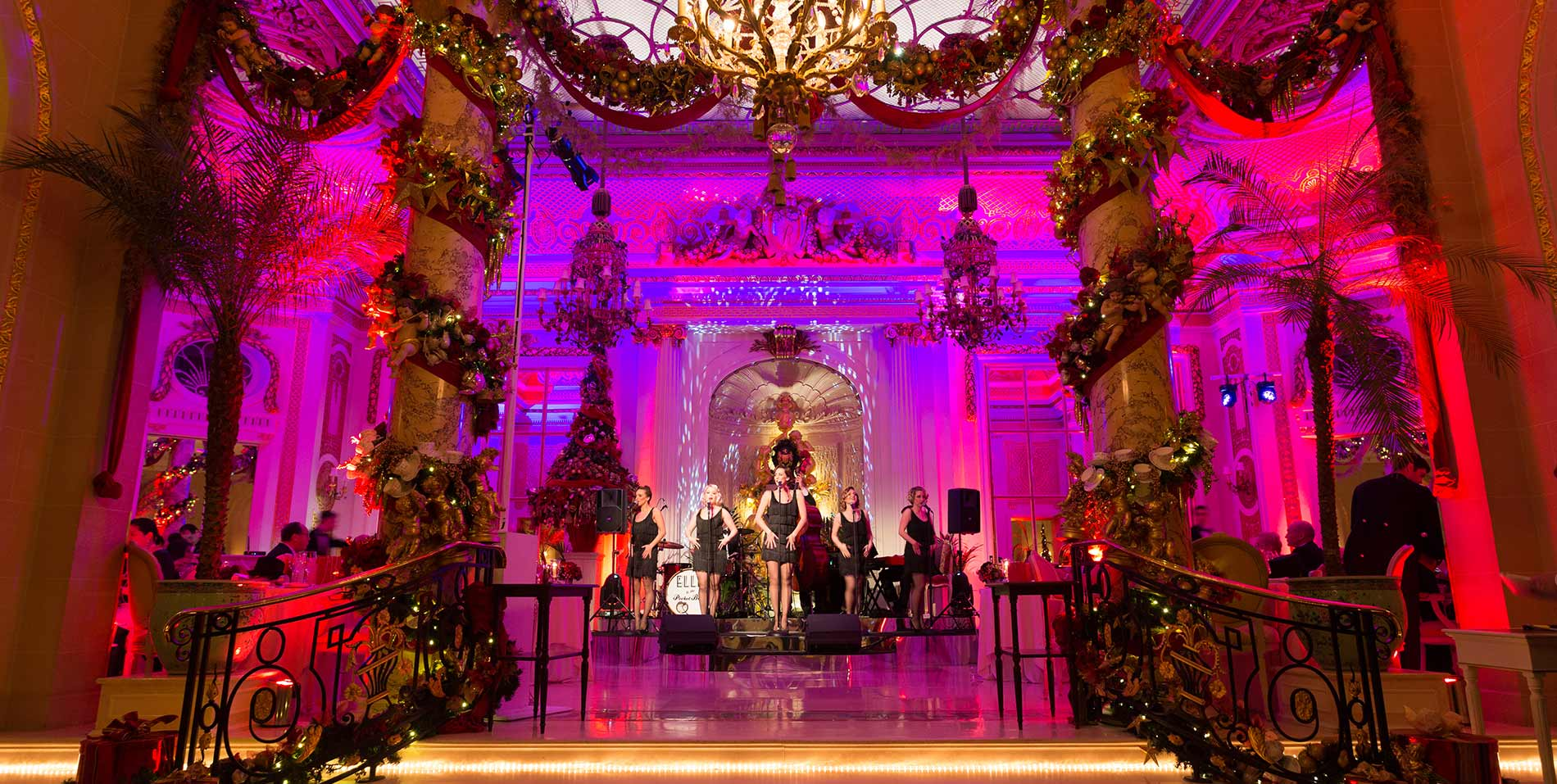 New Year's Eve at The Palm Court