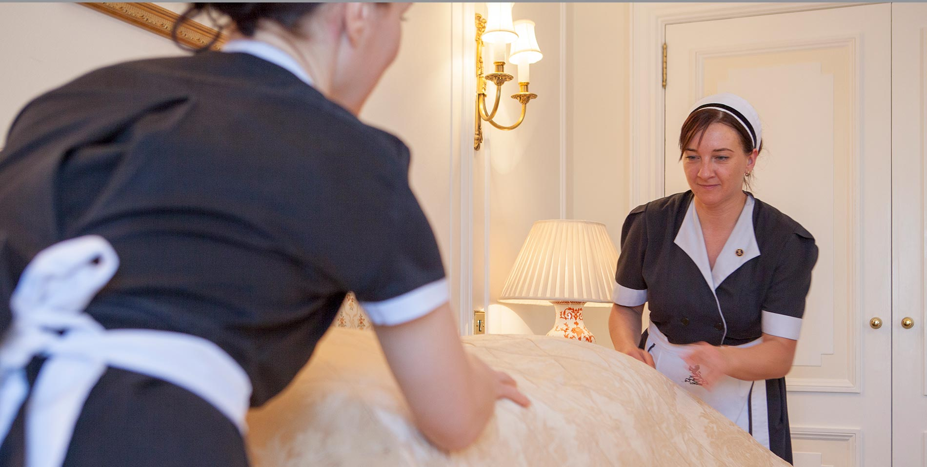Housekeepers at The Ritz
