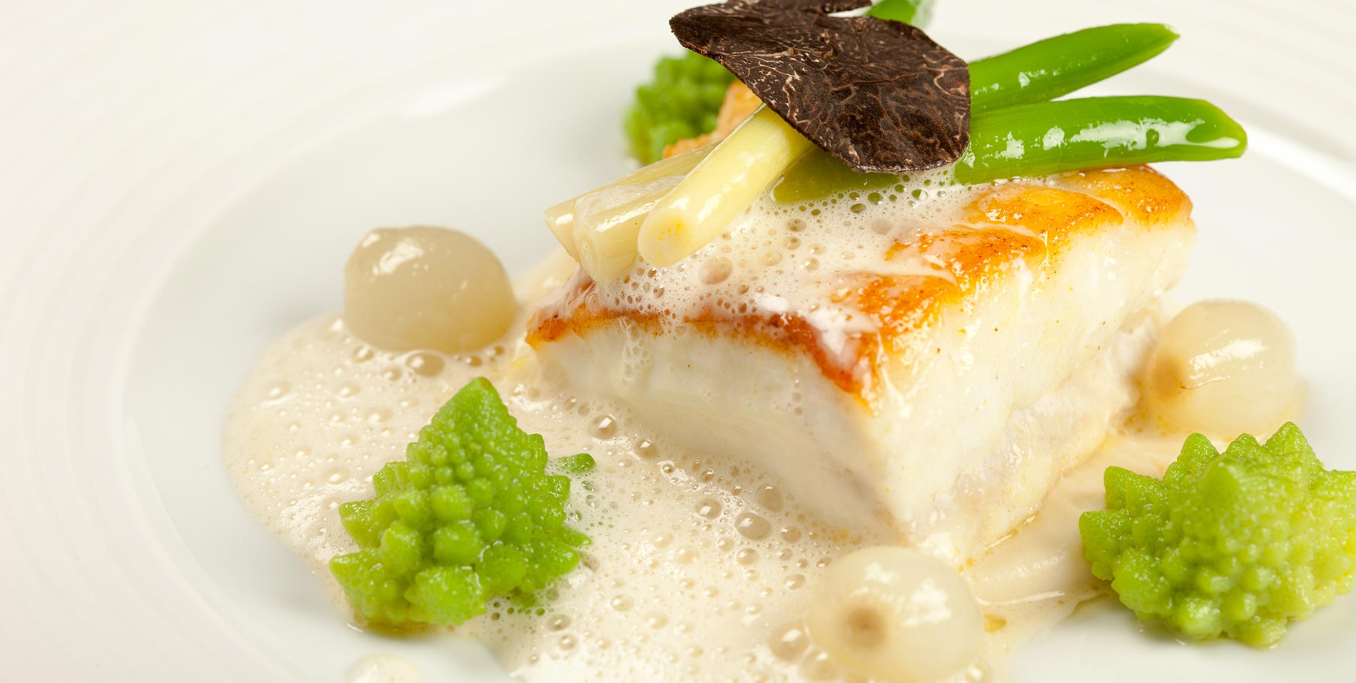 Turbot food in The Ritz