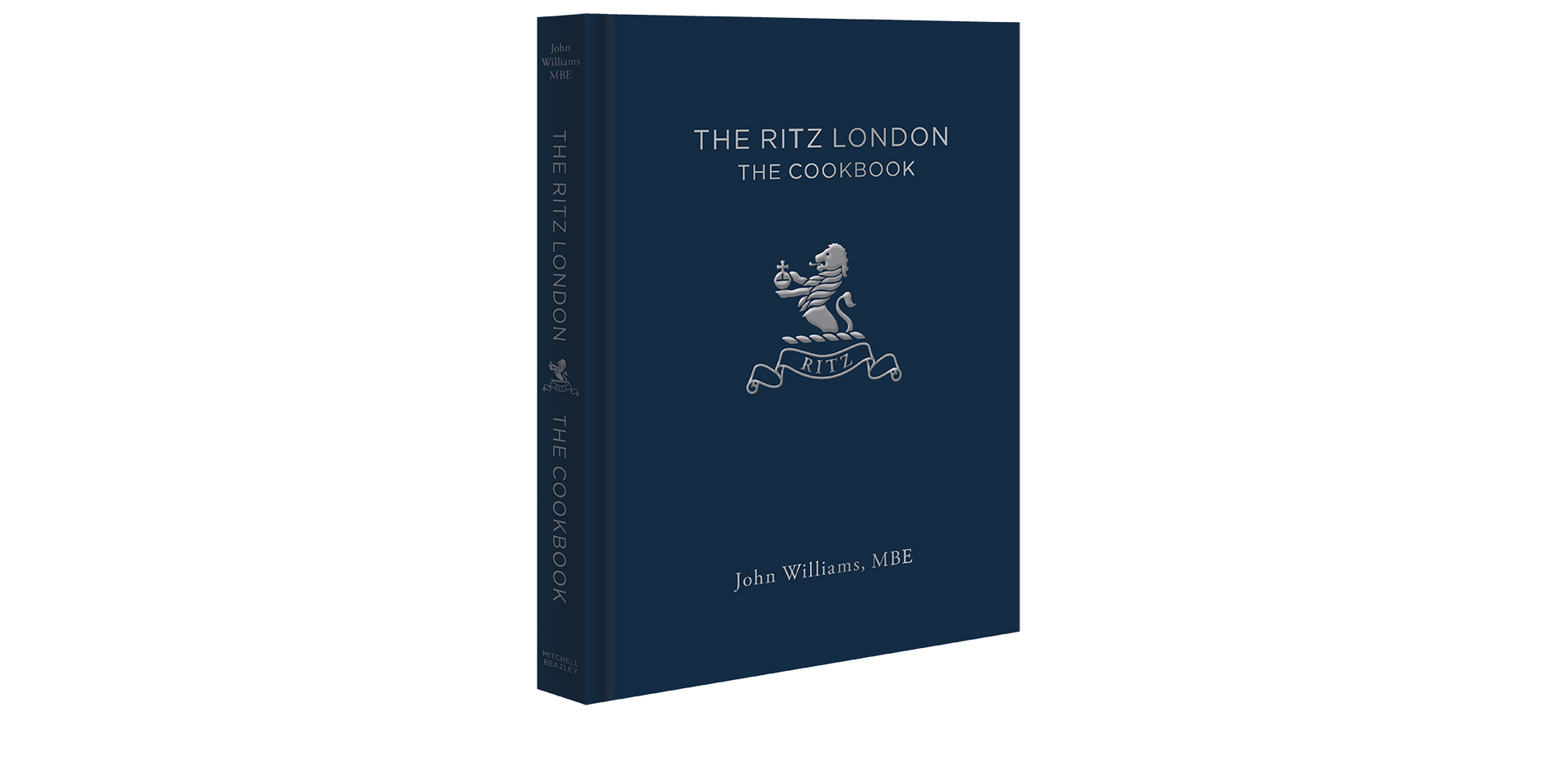 The Ritz London Cookbook cover
