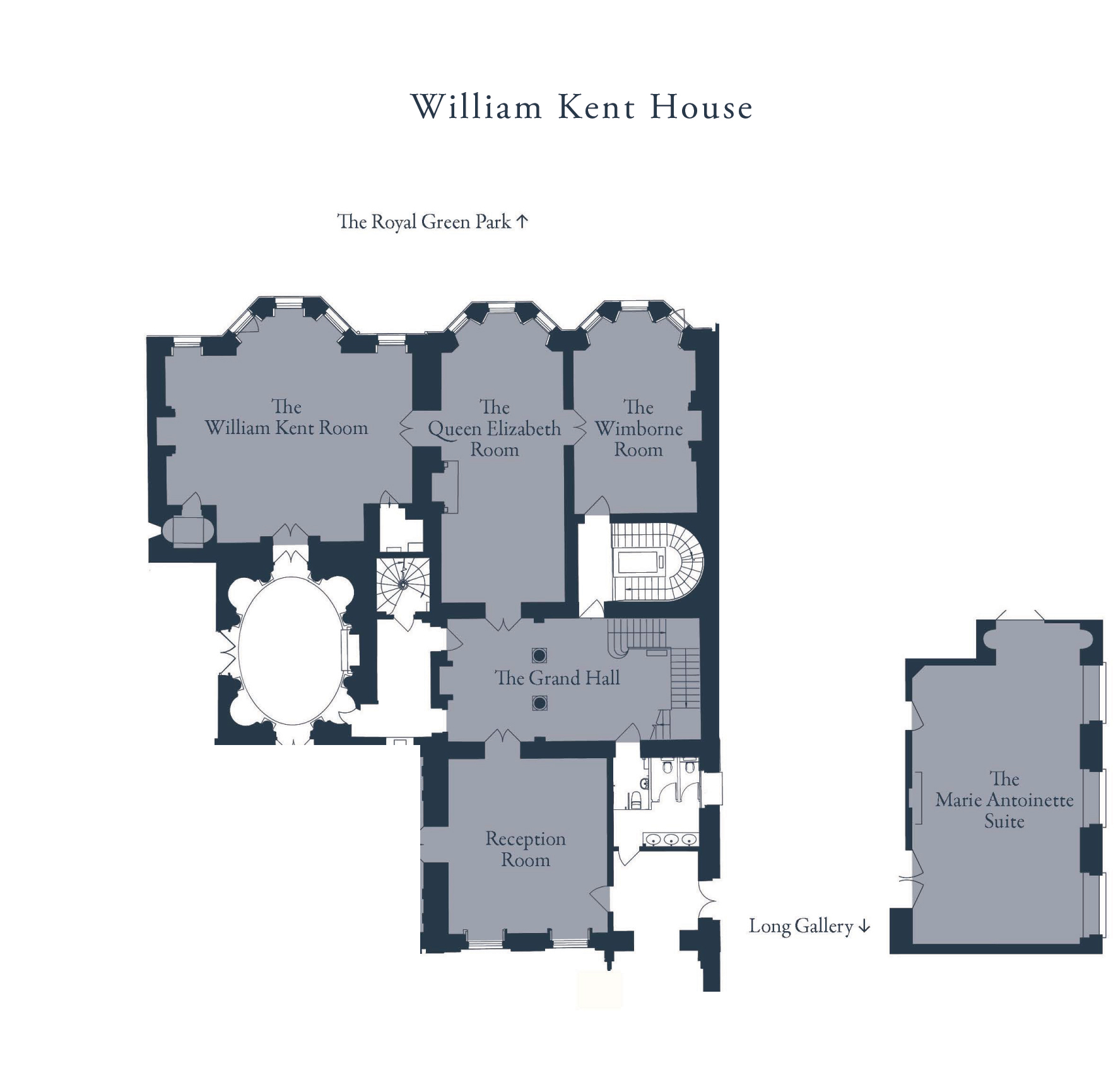 William Kent House Floor plan